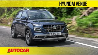 Hyundai Venue 1.0 Turbo-Petrol MT & Blue Link | First Drive Review | Autocar India