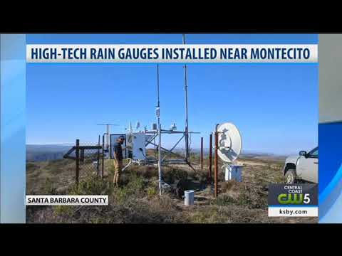 Rain gauges installed in southern Santa Barbara County to help better predict storms