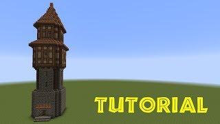 Minecraft Tutorial - Turm bauen - build a tower