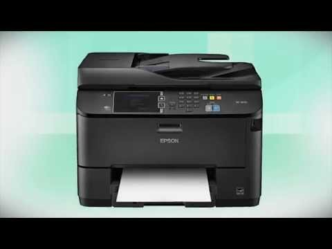 Epson WorkForce WF-4630 | Wireless Setup Using the Printer's Buttons