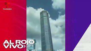 Se desata el pánico por un rascacielos que se tambaleó sin razón en China