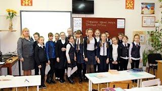 5-А класс,  урок русского языка