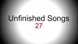 Pop-rap singing backing track - Unfinished song No.27