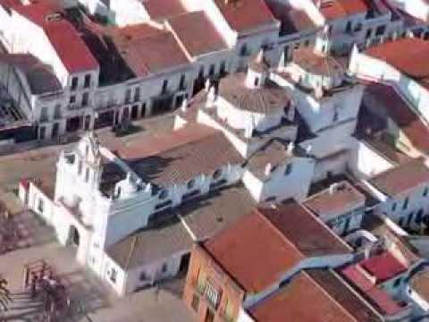 Azuaga,Badajoz (España) Cristo del Humilladero y Parroquia de la Consolación