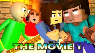 BALDI'S BASICS VS HEROBRINE CHALLENGE! THE MOVIE 1! (Official) Baldi Minecraft Animation Horror Game