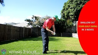 vuclip Shallow Out Your Golf Swing: (3 Easy) Moves That Work