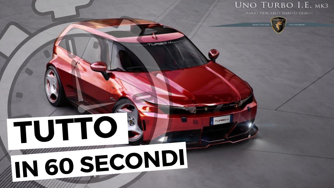 Fiat Uno Turbo Render Tutto In 60 Secondi Youtube