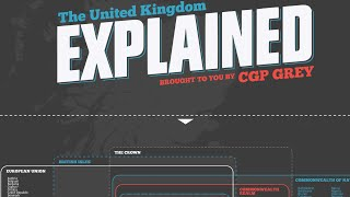 CGP Grey UK Explained Poster Signing Time Lapse