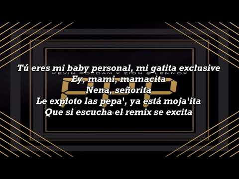 PPP Remix (Letra) - Kevin Roldan Ft. Zion & Lennox