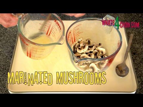 Marinated Mushrooms for Pizza