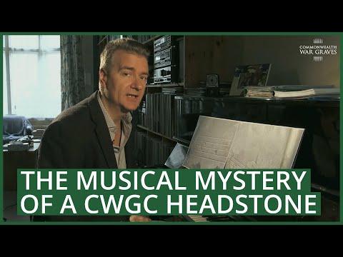 CWGC Headstone Musical Mystery