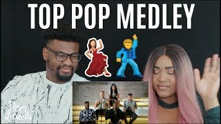 Pentatonix - Top Pop, Vol. I Medley| REACTION