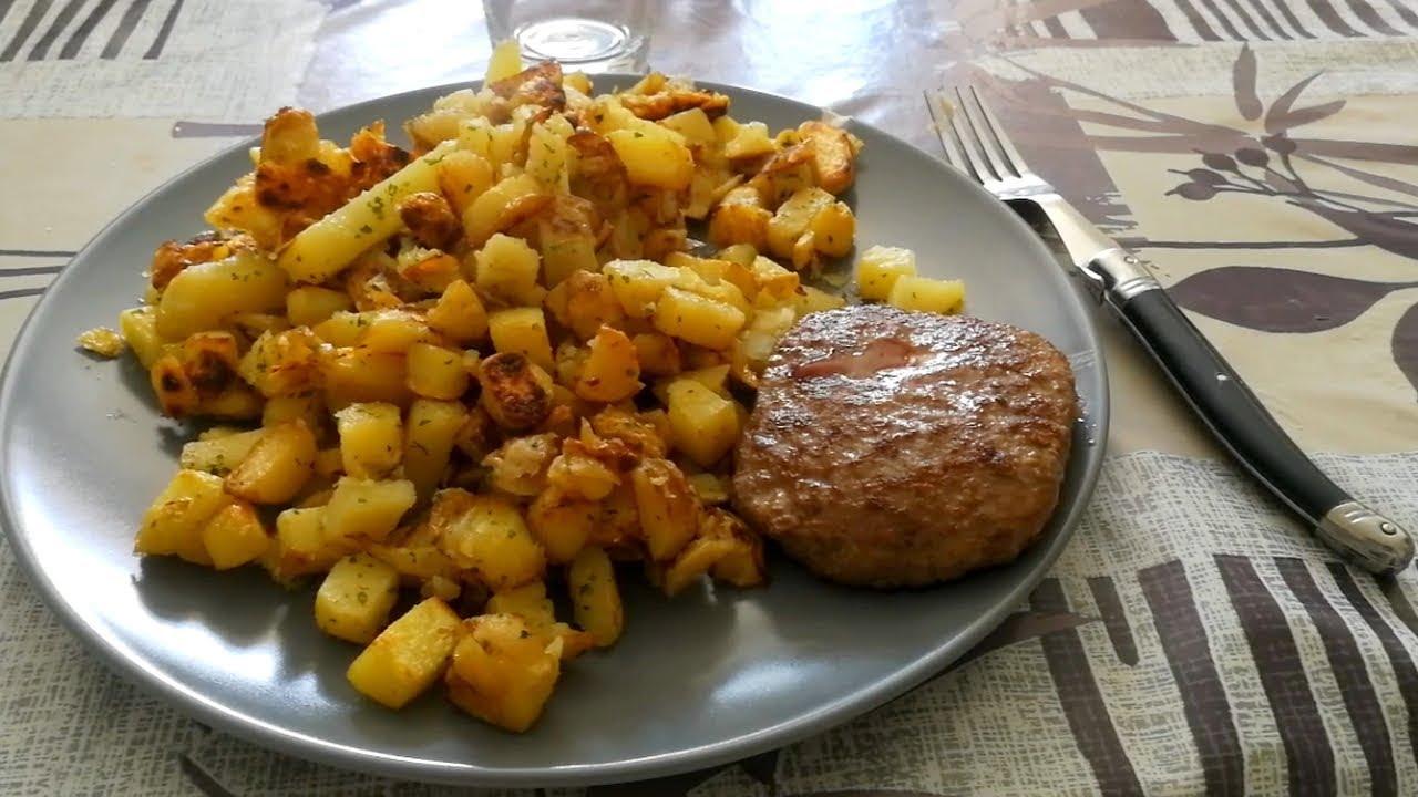 Je Cuisine Les Patates De Mon Jardin Recette Pas Cher Youtube