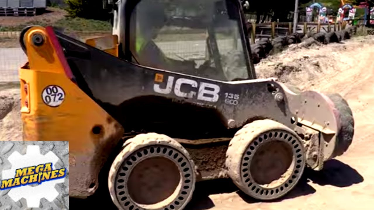 🚜 LEARN ABOUT MEGA MACHINES   TRACTOR DAY   Mega Machines Cars for kids   cars, trucks, digger