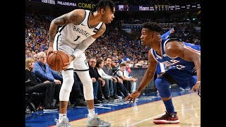 D'Angelo Russell (26 PTS) and Jimmy Butler (36 PTS) Battle in Game 1 of Nets-Sixers   Brooklyn Upset
