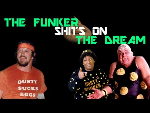Terry Funk shoots on Dusty Rhodes!!