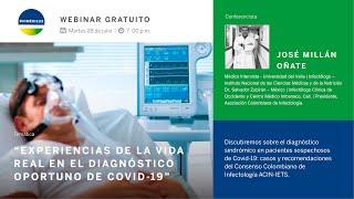 Experiencias de la vida real en el diagnóstico oportuno de Covid-19