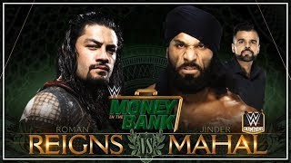 Money In The Bank Live Stream 2018: Jinder Mahal Vs Roman Reigns (Live Reaction)