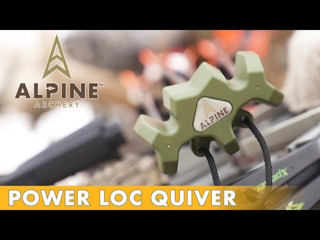 Alpine Archery - Power Loc: 4 Arrow Quiver