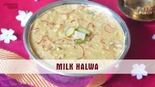 Delicious Milk Halwa Recipe