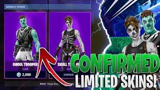 *NEW* SKULL TROOPER SKIN COMES BACK IN SEASON 6! | Fortnite Battle Royale