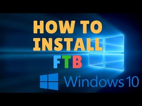 How to Install Feed the Beast (FTB) [Windows 10] HD