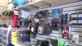 New Mexico Space Museum - Gift Shop Tour (2013)