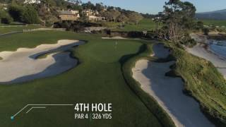 Pebble Beach: Fly over the most stunning course on earth