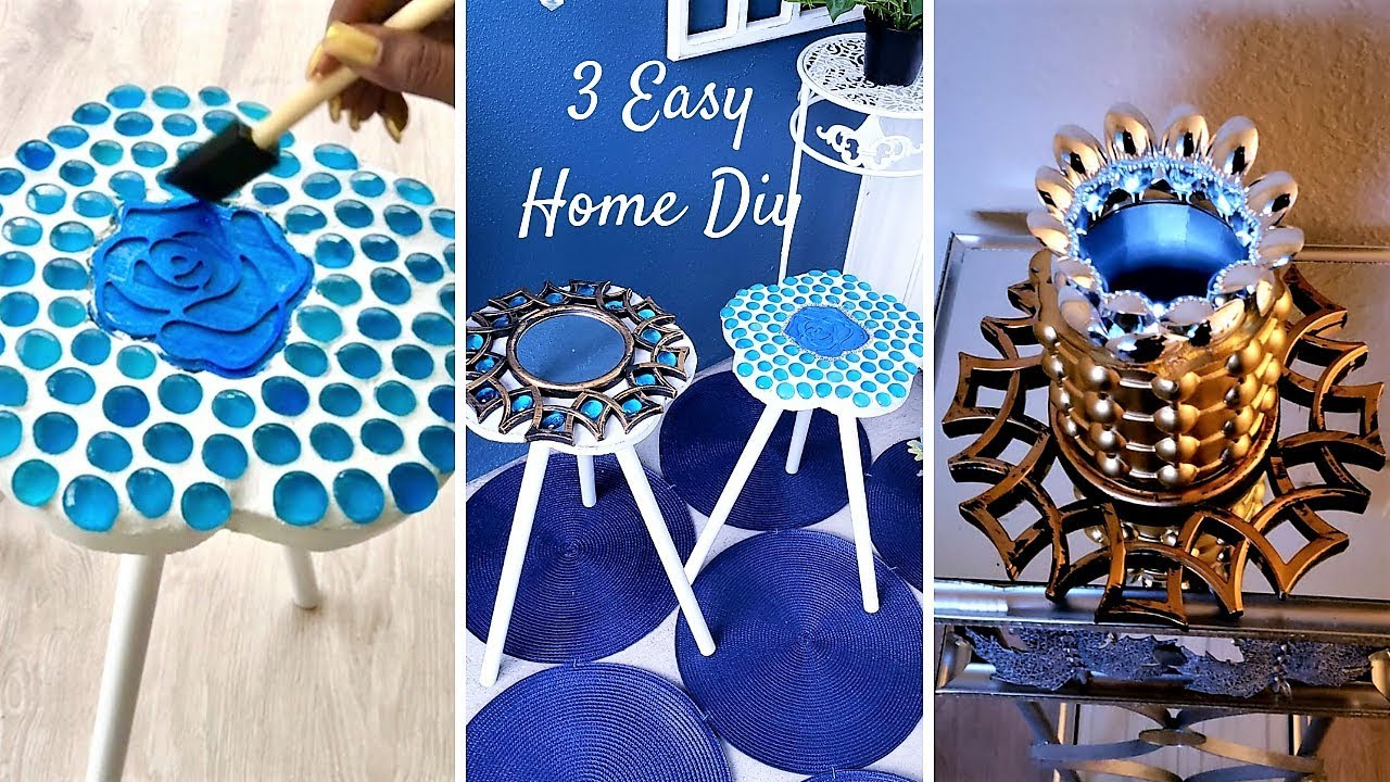 How To Diy Unique Pieces With Kitchen Items Quick And Easy Home Decor Ideas