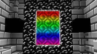 Escape The Minecraft Rainbow Dimensions
