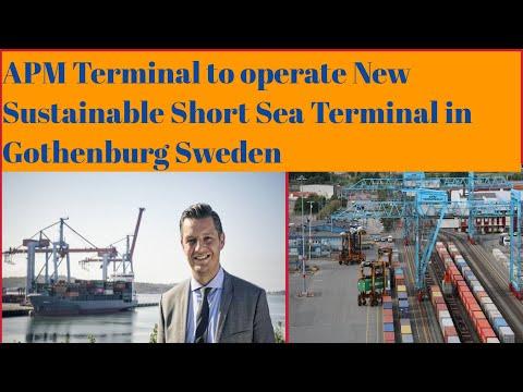 🔰APMTerminal to operate new Sustainable Short -Sea Terminal in Gothenburg Sweden byPatta Siva Prasad