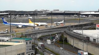 芝山鉄道、旧成田空港駅と空港見学ツアー 2019-10-16