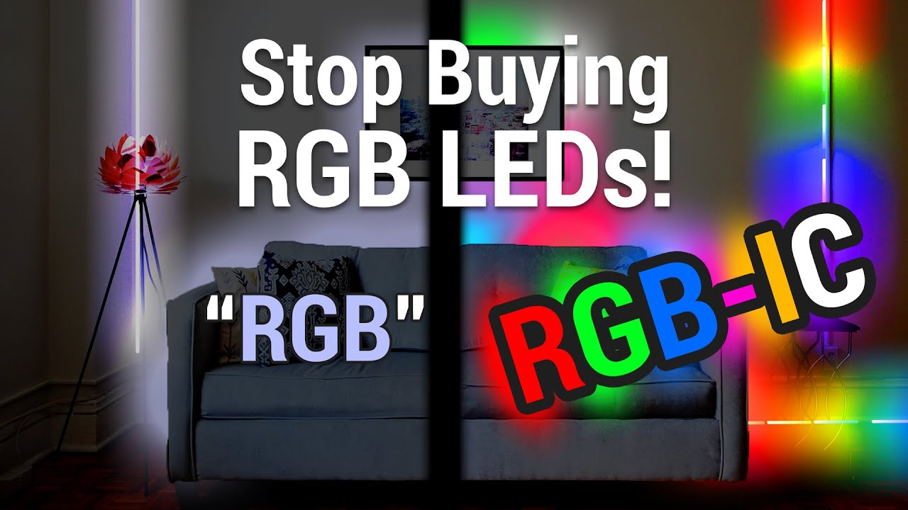 Best Amazon LED Strip Lights | RGBIC vs. RGB | Govee Smart RGBIC Strip Lights  | Best TikTok Lights!