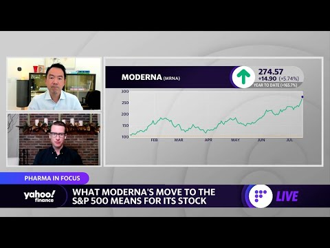 Moderna is the 'Tesla of biotech': analyst