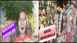 Bozcaada Sokakları - Assos Behramkale Köyü Çanakkale (Sau Turizm)