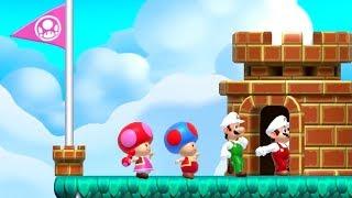 Super Mario Maker 2 - Multiplayer Co-op Mode #1
