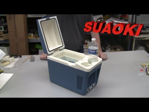 REVIEW: SUAOKI Portable Car Fridge Electric Cooler and Warmer - 12v