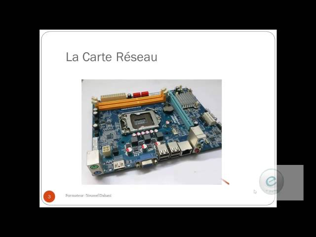 Les Composants de l'ordinateur  11 : Carte Reseau