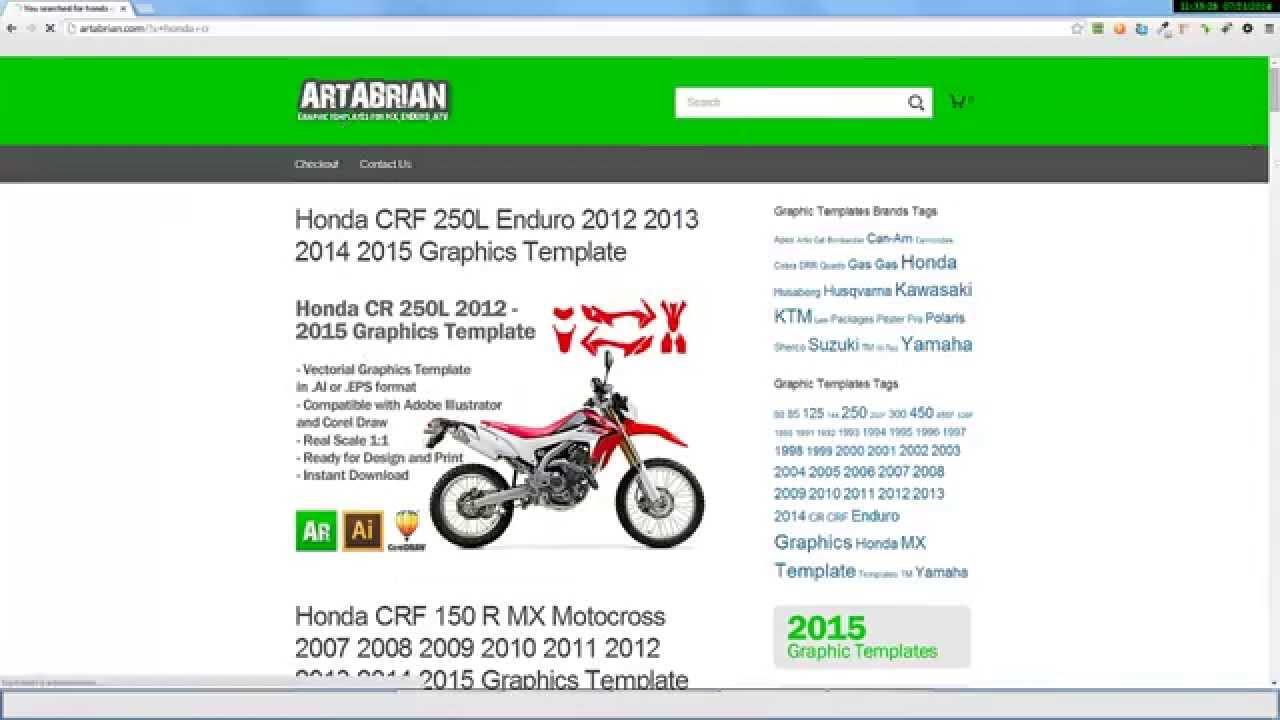 how to buy graphic templates on artabrian com mx motocross