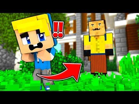 MIO FIGLIO ENTRA NEL GIARDINO DEL VICINO... - Famiglia di Minecraft #19
