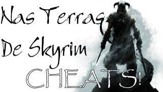 Nas Terras de Skyrim #4 - Cheats! [1]