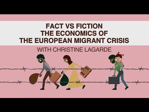 The European Migrant Crisis with Christine Lagarde - YouTube