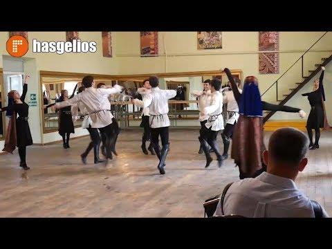 Хасавюртовский ансамбль Эхо гор в Испании