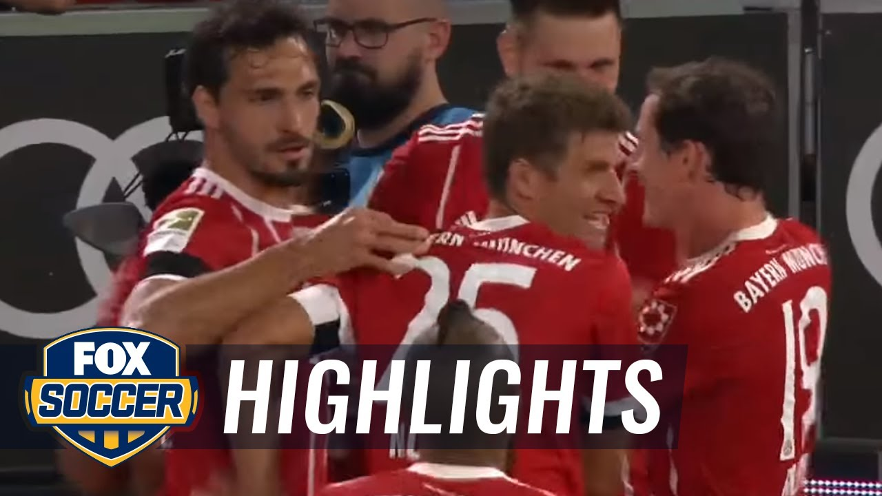 Download Corentin Tolisso extends Bayern's lead vs. Bayer Leverkusen | 2017-18 Bundesliga Highlights