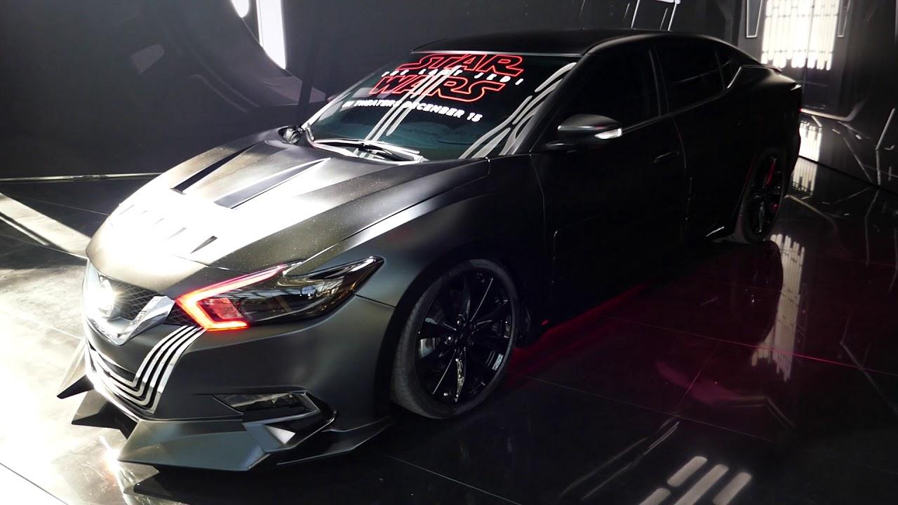 Custom Nissan Maxima >> Star Wars Nissan Maxima Custom Car 2017 La Auto Show Los Angeles Ca