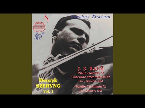 Violin Sonata No. 3 In C Major, BWV 1005: III. Largo (Live)
