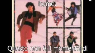 DeBarge - Rhythm Of The Night with lyrics and Italian subtitles.