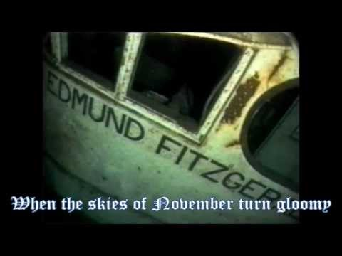 The Wreck Of The Edmund Fitzgerald~Gordon Lightfoot with Lyrics(Best Version On Youtube)