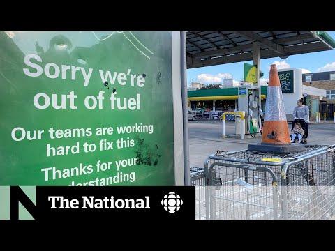 U.K. gasoline shortage blamed on Brexit, pandemic