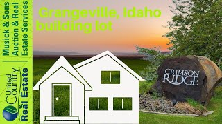 Crimson Ridge Subdivision Lots For Sale: Grangeville, Idaho